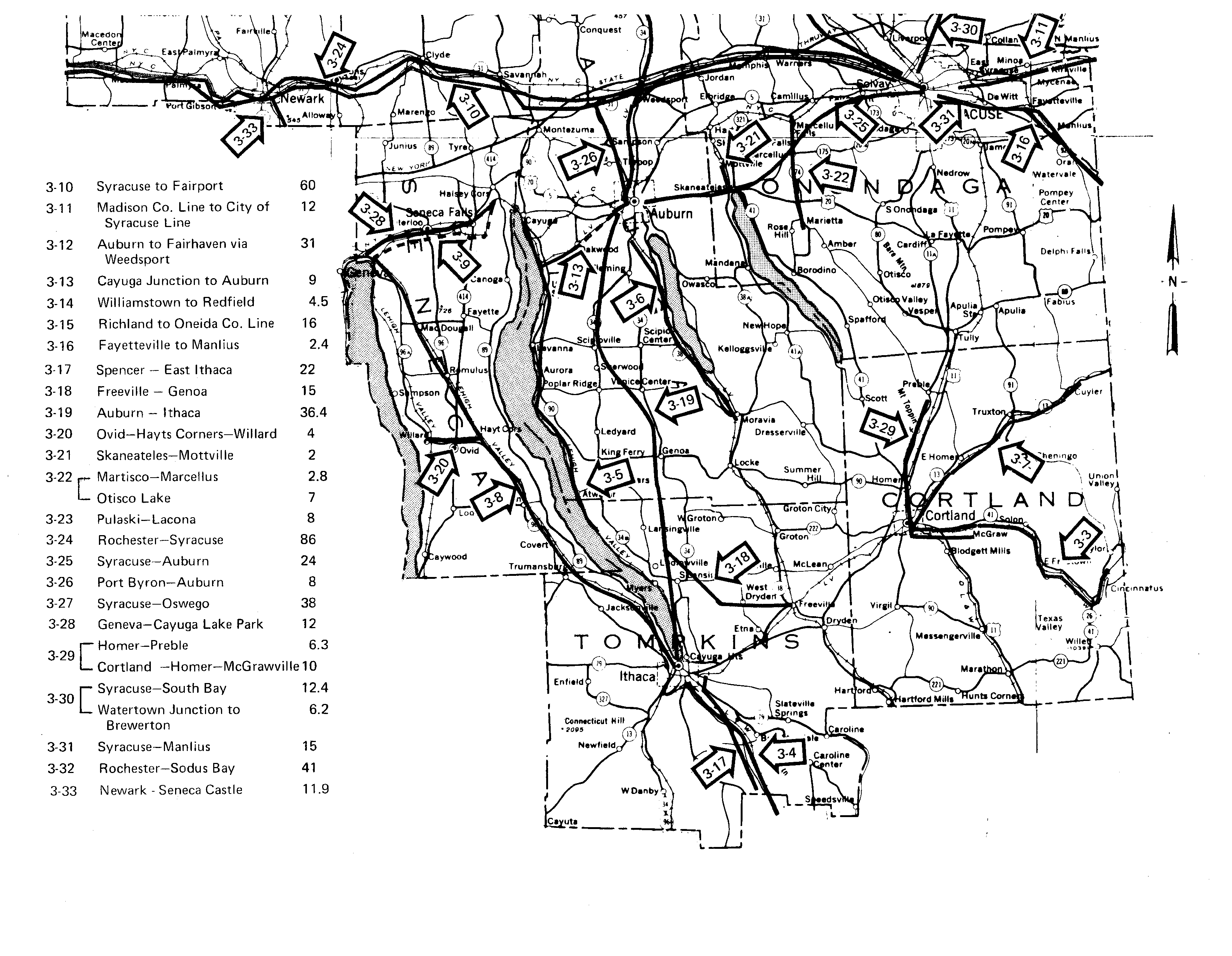Inventory Of Abandoned Railroad Rights Way Locator Maps Miata Egr Fuse Diagram